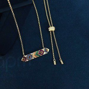 Apm Monaco Colorful Tribal Necklace